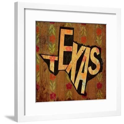 Texas-Art Licensing Studio-Framed Giclee Print