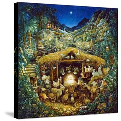 Silent Night-Bill Bell-Stretched Canvas Print