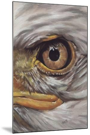 Eye-Catching Bald Eagle-Barbara Keith-Mounted Giclee Print