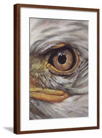 Eye-Catching Bald Eagle-Barbara Keith-Framed Giclee Print