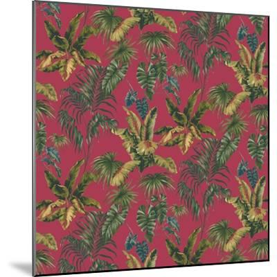 Tropic Toile Tomato-Bill Jackson-Mounted Giclee Print