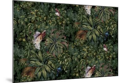 Sothern Bop Forest Green-Bill Jackson-Mounted Giclee Print