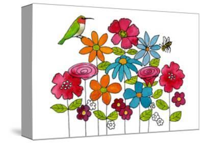 Addison's Garden-Blenda Tyvoll-Stretched Canvas Print