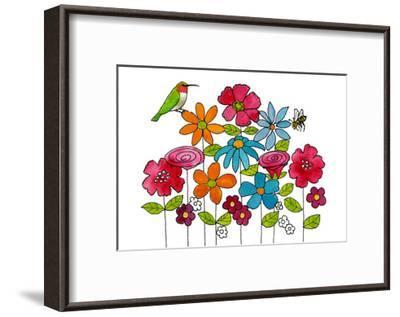 Addison's Garden-Blenda Tyvoll-Framed Giclee Print