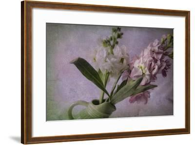 Pink and White Stock-Bob Rouse-Framed Giclee Print