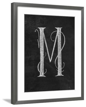M Curly Chalk Capital-CJ Hughes-Framed Giclee Print