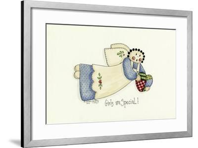 Girls are Special Angel-Debbie McMaster-Framed Giclee Print