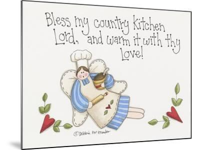Country Kitchen-Debbie McMaster-Mounted Giclee Print