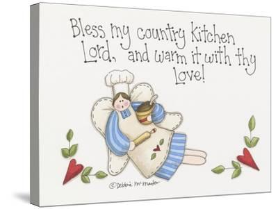 Country Kitchen-Debbie McMaster-Stretched Canvas Print