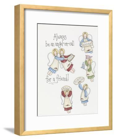 Angel on Call-Debbie McMaster-Framed Giclee Print