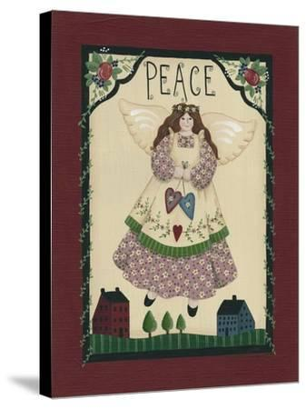 Peace Angel-Debbie McMaster-Stretched Canvas Print