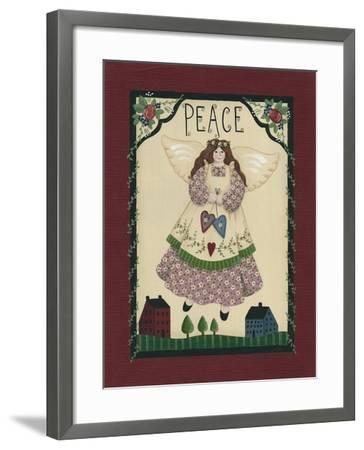 Peace Angel-Debbie McMaster-Framed Giclee Print