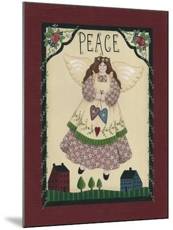 Peace Angel-Debbie McMaster-Mounted Giclee Print