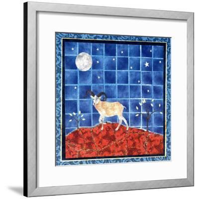 Mountain Goat-David Sheskin-Framed Giclee Print