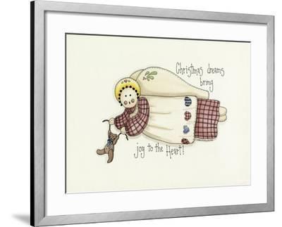 Christmas Dreams Angel-Debbie McMaster-Framed Giclee Print