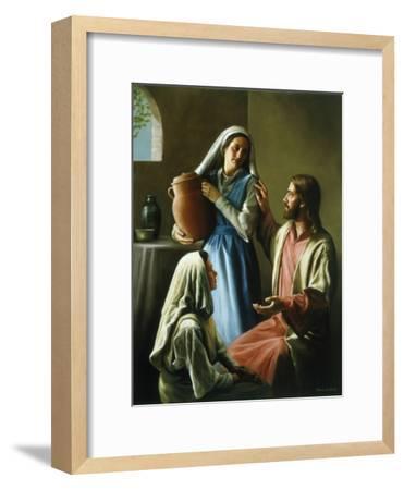 Mary and Martha-David Lindsley-Framed Premium Giclee Print
