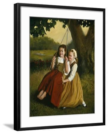 Friendship-David Lindsley-Framed Giclee Print