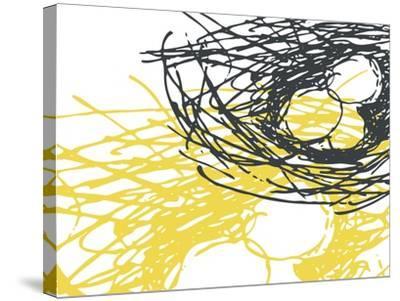 Brighter Nest White-Christine O'Brien-Stretched Canvas Print