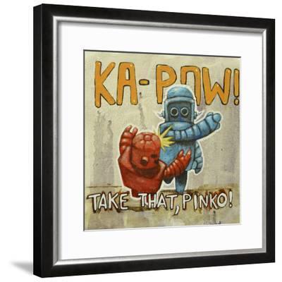 Take That Pinko-Craig Snodgrass-Framed Giclee Print