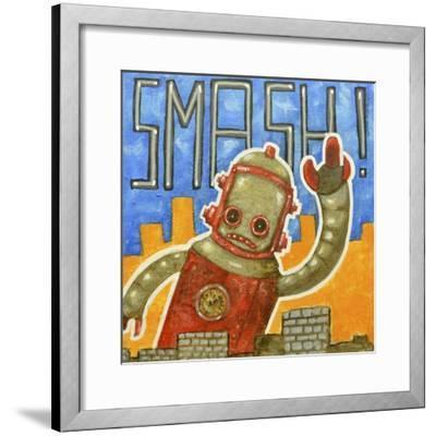 Smash!-Craig Snodgrass-Framed Giclee Print