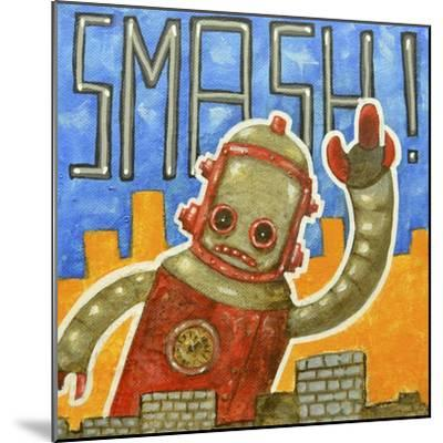Smash!-Craig Snodgrass-Mounted Giclee Print