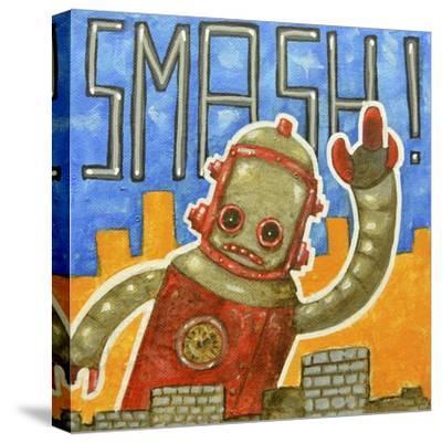 Smash!-Craig Snodgrass-Stretched Canvas Print