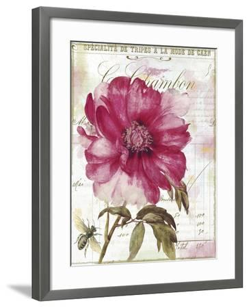 Lepink with Bee-Color Bakery-Framed Giclee Print