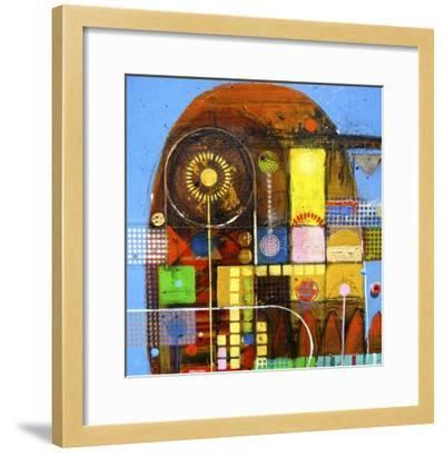 Carlas Garden-David Spencer-Framed Giclee Print
