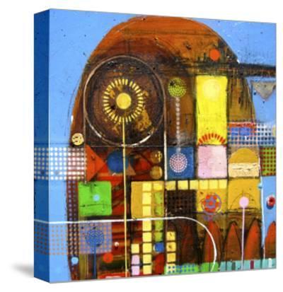 Carlas Garden-David Spencer-Stretched Canvas Print