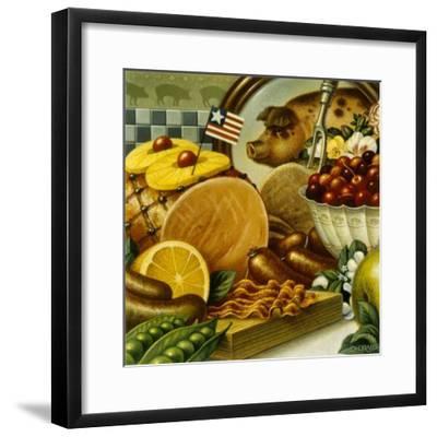Pork Still Life-Dan Craig-Framed Giclee Print