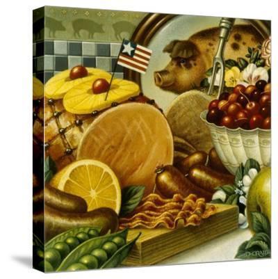 Pork Still Life-Dan Craig-Stretched Canvas Print