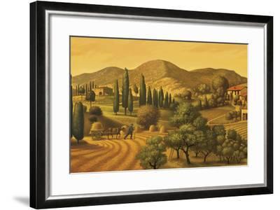 Tuscan Landscape-Dan Craig-Framed Giclee Print