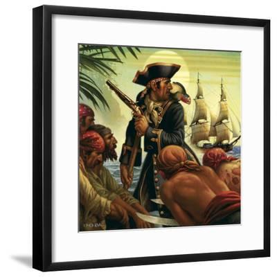 Treasure Island-Dan Craig-Framed Giclee Print