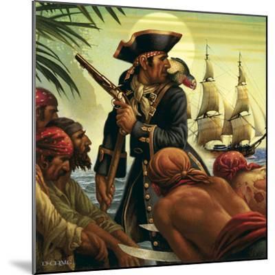 Treasure Island-Dan Craig-Mounted Giclee Print