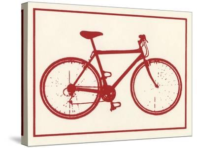 Bicycle-Crockett Collection-Stretched Canvas Print