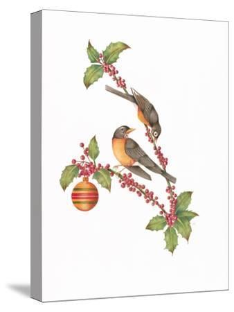 Robin Holly Day-Deborah Kopka-Stretched Canvas Print