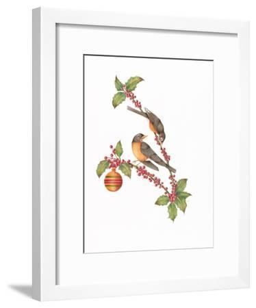 Robin Holly Day-Deborah Kopka-Framed Giclee Print