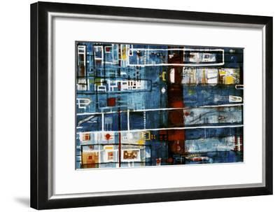 Damiens Push-David Spencer-Framed Giclee Print