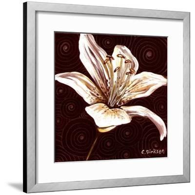 Tiger Lily 1-Cherie Roe Dirksen-Framed Giclee Print