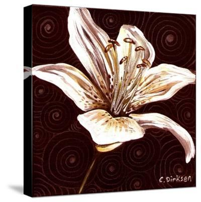 Tiger Lily 1-Cherie Roe Dirksen-Stretched Canvas Print