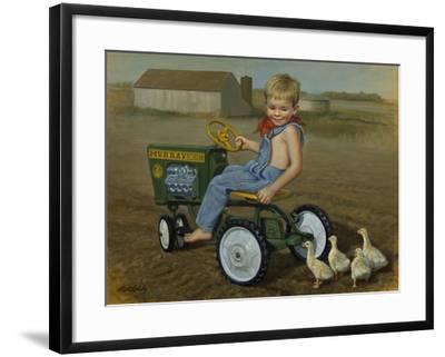 Murray Diesel Tractor-David Lindsley-Framed Giclee Print