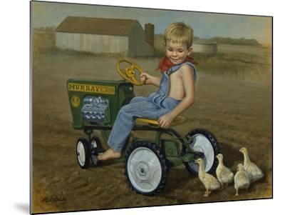 Murray Diesel Tractor-David Lindsley-Mounted Giclee Print