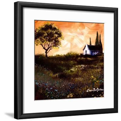 House in the Fields 1-Cherie Roe Dirksen-Framed Giclee Print
