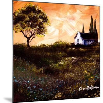 House in the Fields 1-Cherie Roe Dirksen-Mounted Giclee Print