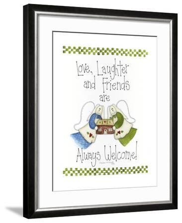 Love, Laughter and Friends-Debbie McMaster-Framed Giclee Print