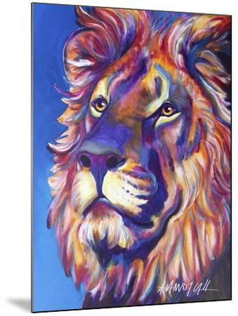 Lion - Cecil-Dawgart-Mounted Giclee Print