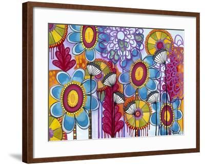 Magic Garden-Carla Bank-Framed Giclee Print