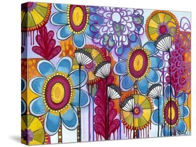 Magic Garden-Carla Bank-Stretched Canvas Print