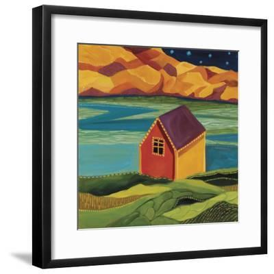 Shed at the Dock-Catherine Breer-Framed Giclee Print
