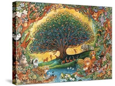 The Tree of Knowledge (Eden)-Bill Bell-Stretched Canvas Print